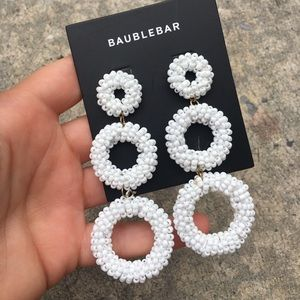 New With Tags Baublebar Earrings